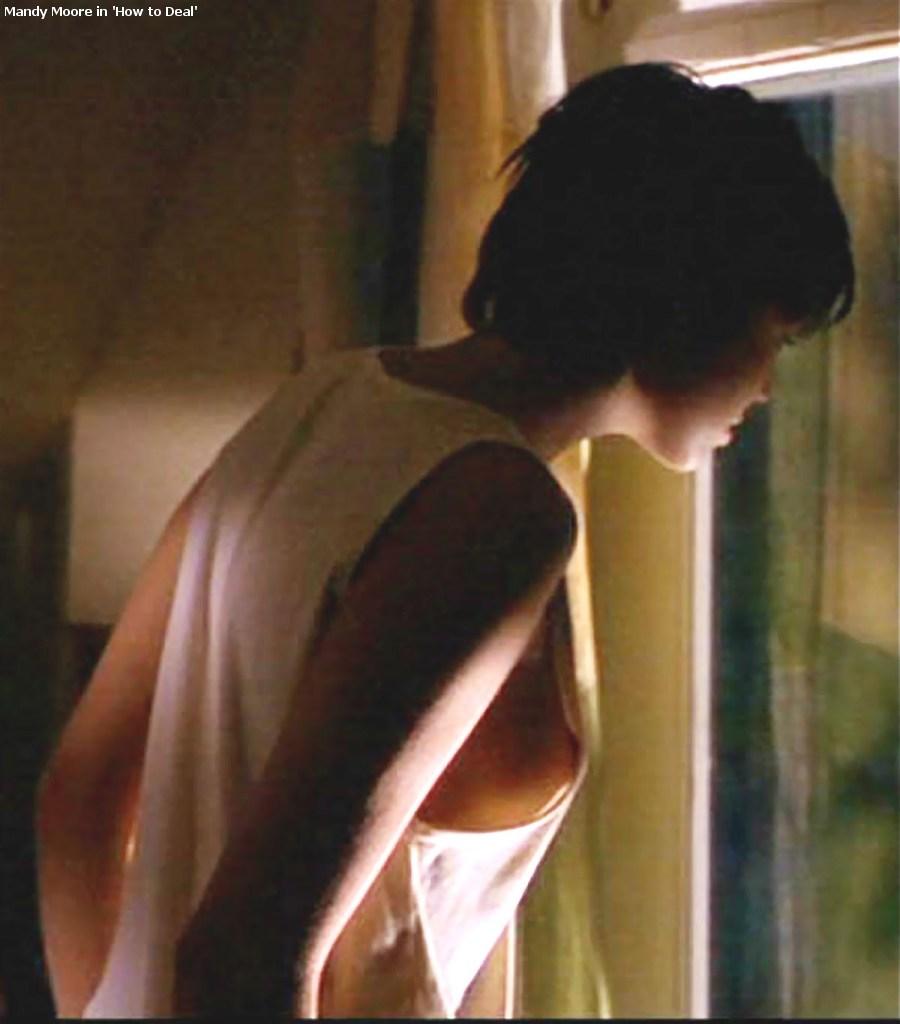 Mandy moore nipples